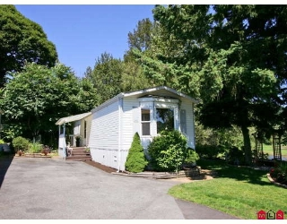 "Main Photo: 16 9970 WILSON Street in Mission: Mission-West Manufactured Home for sale in ""RUSKIN PARK"" : MLS®# F2823125"