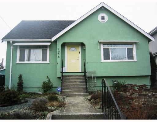 Photo 1: 1935 LONDON Street in New_Westminster: West End NW House for sale (New Westminster)  : MLS(r) # V752198