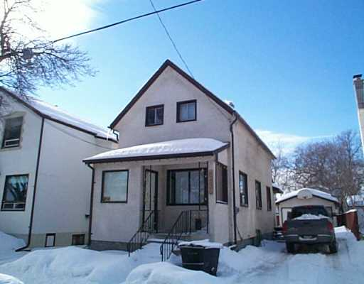 Main Photo: 580 ABERDEEN Avenue in WINNIPEG: North End Single Family Detached for sale (North West Winnipeg)  : MLS(r) # 2502983