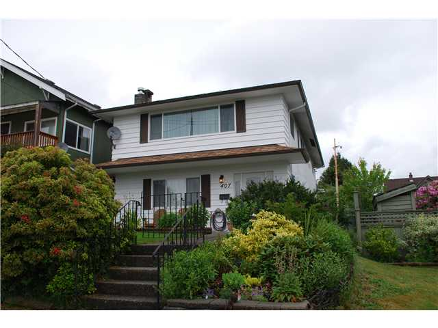Main Photo: 407 SCHOOL Street in New Westminster: The Heights NW House for sale : MLS® # V834157