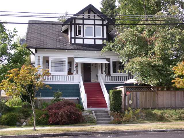 "Main Photo: 1523 8TH Avenue in New Westminster: West End NW House for sale in ""WEST END"" : MLS® # V847961"