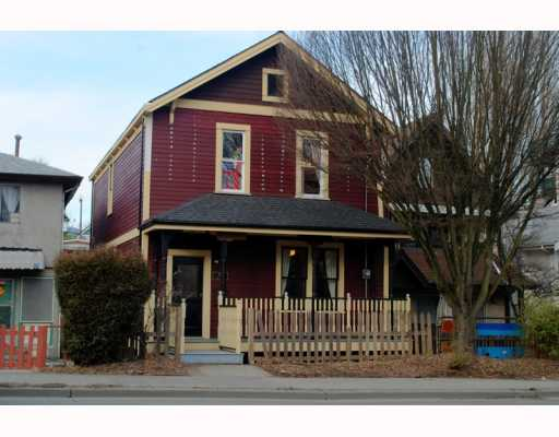 Main Photo: 757 PRIOR Street in Vancouver: Mount Pleasant VE House for sale (Vancouver East)  : MLS(r) # V753254