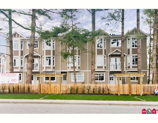 "Main Photo: 12 2865 273RD Street in Langley: Aldergrove Langley Townhouse for sale in ""EMMY LANE"" : MLS® # F2830347"
