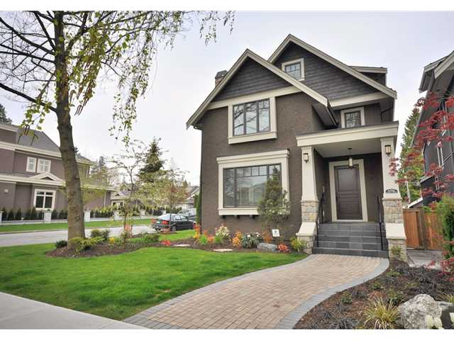 Main Photo: 6706 ANGUS Drive in Vancouver: South Granville House for sale (Vancouver West)  : MLS®# V821301
