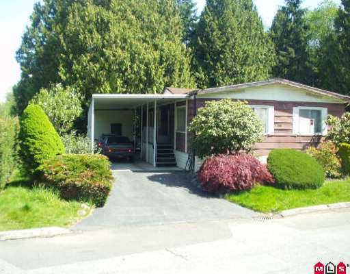 "Main Photo: 158 7790 KING GEORGE HY in Surrey: West Newton Manufactured Home for sale in ""Crispen Bays"" : MLS®# F2609457"