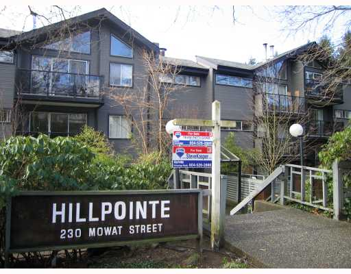 "Main Photo: 111 230 MOWAT Street in New_Westminster: Uptown NW Condo for sale in ""HILL POINTE"" (New Westminster)  : MLS® # V754987"
