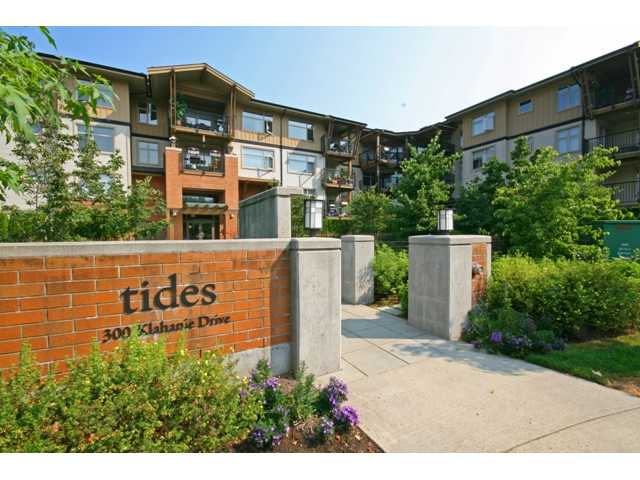 "Main Photo: 109 300 KLAHANIE Drive in Port Moody: Port Moody Centre Condo for sale in ""TIDES AT KLAHANIE"" : MLS® # V844855"