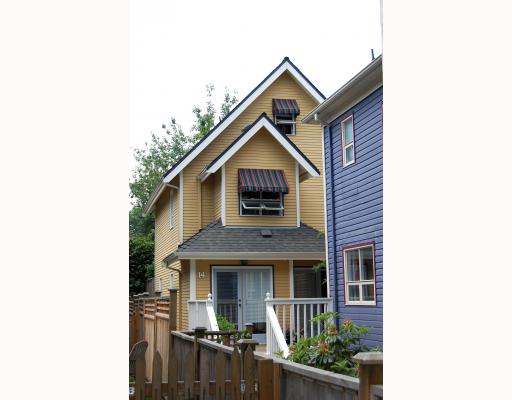 Main Photo: 14 W 13TH Avenue in Vancouver: Mount Pleasant VW House 1/2 Duplex for sale (Vancouver West)  : MLS(r) # V771658