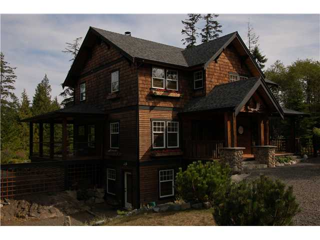 "Main Photo: 347 SALAL Road: Bowen Island House for sale in ""HIGHLAND ESTATES"" : MLS®# V851004"