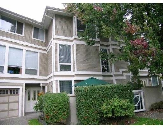 Main Photo: 3228 RALEIGH Street in Port Coquitlam: Central Pt Coquitlam Townhouse for sale : MLS® # V615223