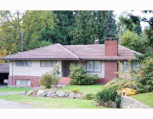 Main Photo: 6405 MACKENZIE Place in Vancouver: Kerrisdale House for sale (Vancouver West)  : MLS(r) # V743102