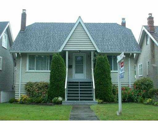 Main Photo: 3265 W 12TH AV in Vancouver: Kitsilano House for sale (Vancouver West)  : MLS(r) # V554580