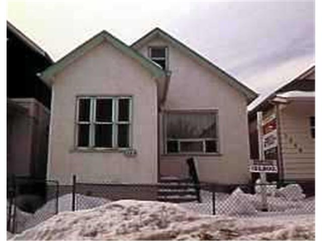 Main Photo: 1564 ROSS Avenue West in WINNIPEG: Brooklands / Weston Residential for sale (West Winnipeg)  : MLS®# 9605298