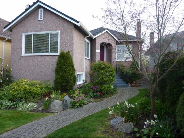 "Main Photo: 572 W 24TH Avenue in Vancouver: Cambie House for sale in ""DOUGLAS PARK"" (Vancouver West)  : MLS®# V819469"