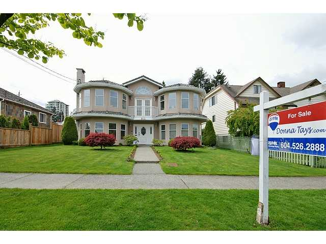 Main Photo: 812 4TH Street in New Westminster: GlenBrooke North House for sale : MLS® # V827407
