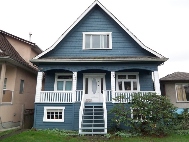 Main Photo: 2024 E 12TH Avenue in Vancouver: Grandview VE House for sale (Vancouver East)  : MLS® # V855091