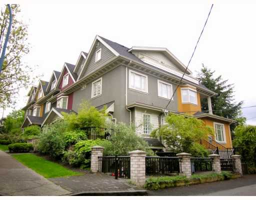 "Main Photo: 2251 CAROLINA Street in Vancouver: Mount Pleasant VE Townhouse for sale in ""CAROLINA ON 7TH"" (Vancouver East)  : MLS®# V766943"