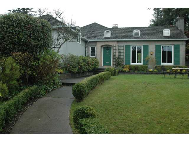 Main Photo: 1511 W 40TH Avenue in Vancouver: Shaughnessy House for sale (Vancouver West)  : MLS® # V825187