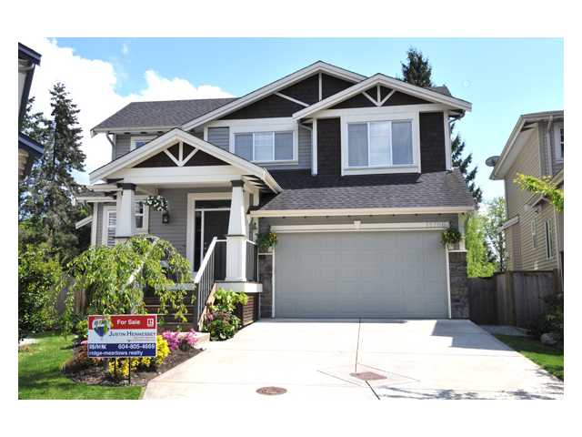 "Main Photo: 11786 237A Street in Maple Ridge: Cottonwood MR House for sale in ""ROCKWELL PARK"" : MLS® # V828849"