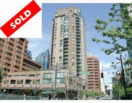 Main Photo: #803 - 1189 Howe Street, VANCOUVER: Condo for sale (Downtown VW)