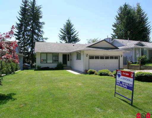 Main Photo: 33190 ROSE AV in Mission: Mission BC House for sale : MLS® # F2511775