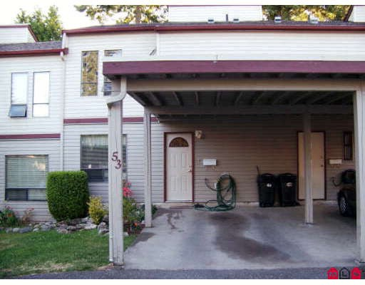 Main Photo: 53 32310 MOUAT Drive in Abbotsford: Abbotsford West Townhouse for sale : MLS® # F2823208