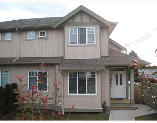 Main Photo: 1054 DELESTRE Avenue in Coquitlam: Maillardville House 1/2 Duplex for sale : MLS® # V750137