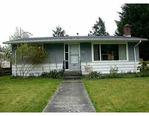 Main Photo: 749 DOGWOOD Street in Coquitlam: Coquitlam West House for sale : MLS® # V780820