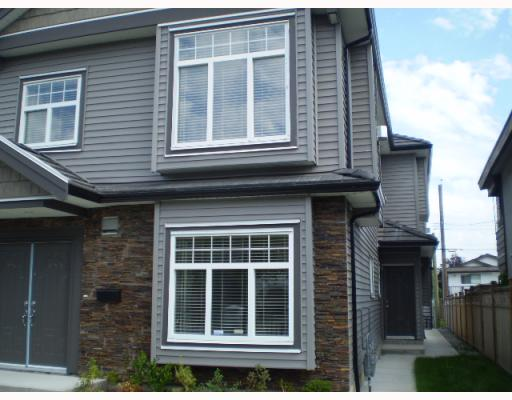 "Main Photo: 8522 SHAUGHNESSY Street in Vancouver: Marpole House 1/2 Duplex for sale in ""WOOD"" (Vancouver West)  : MLS® # V785289"