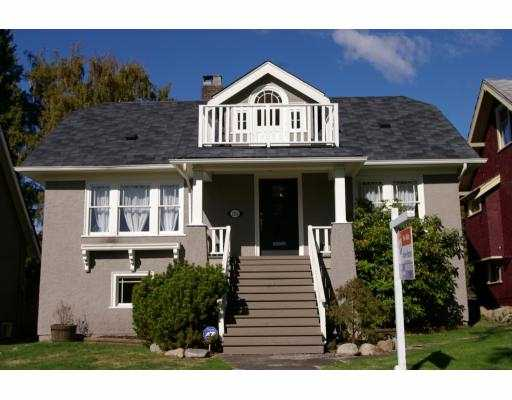 Main Photo: 2153 W 48TH AV in Vancouver: Kerrisdale House for sale (Vancouver West)  : MLS® # V559811