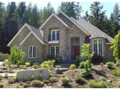 "Main Photo: 312 FORESTVIEW Lane: Anmore House for sale in ""CRYSTAL CREEK"" (Port Moody)  : MLS® # V868121"