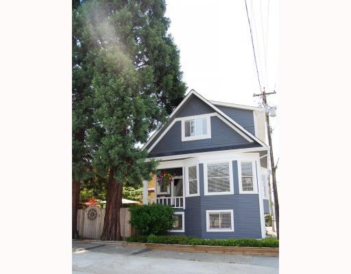 Main Photo: 2227 ALBERTA Street in Vancouver: Mount Pleasant VW House for sale (Vancouver West)  : MLS® # V771743