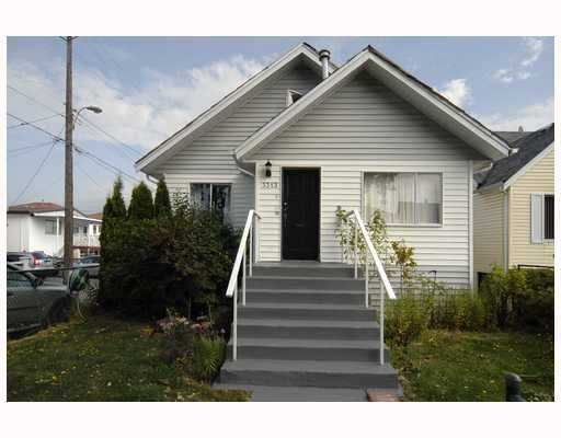 Main Photo: 3313 E 26TH Avenue in Vancouver: Renfrew Heights House for sale (Vancouver East)  : MLS®# V784385