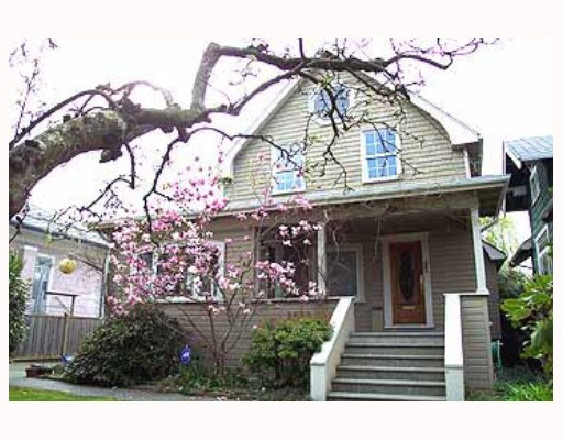 Main Photo: 5841 ST GEORGE Street in Vancouver: Fraser VE House for sale (Vancouver East)  : MLS®# V813633