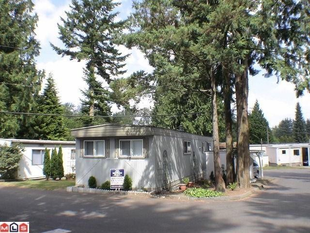 "Main Photo: 38 24330 FRASER Highway in Langley: Otter District Manufactured Home for sale in ""LANGLEY GROVE ESTATES"" : MLS® # F1100700"