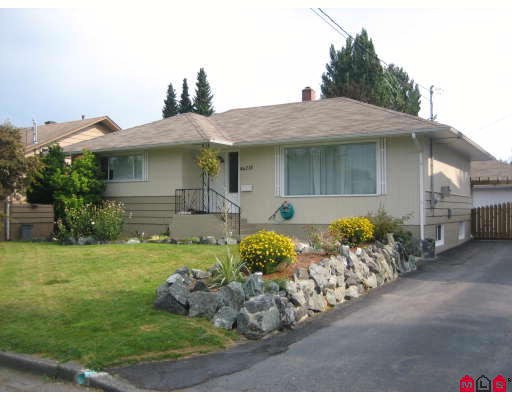 Main Photo: 46218 MAGNOLIA Avenue in Chilliwack: Chilliwack N Yale-Well House for sale : MLS® # H2804468