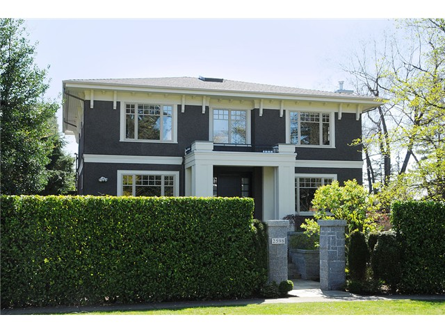 "Main Photo: 2598 W 37TH Avenue in Vancouver: Kerrisdale House for sale in ""KERRISDALE"" (Vancouver West)  : MLS® # V821565"