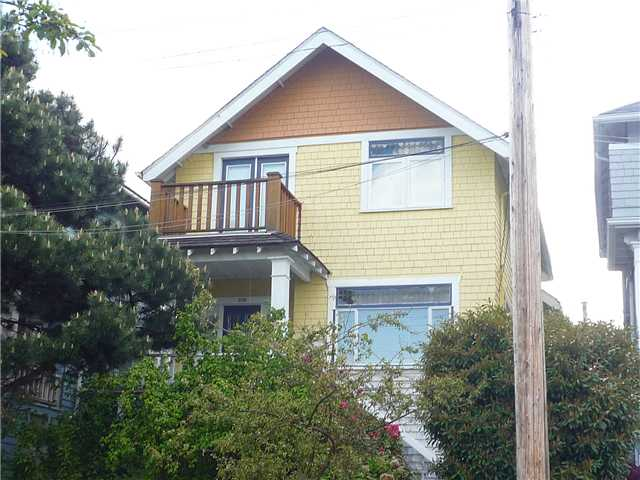 Main Photo: 2110 SEMLIN Drive in Vancouver: Grandview VE House for sale (Vancouver East)  : MLS® # V836130