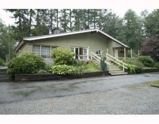 Main Photo: 10494 280TH Street in Maple_Ridge: Whonnock House for sale (Maple Ridge)  : MLS® # V781149