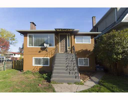 Main Photo: 2501 E GEORGIA Street in Vancouver: Renfrew VE House for sale (Vancouver East)  : MLS®# V788885