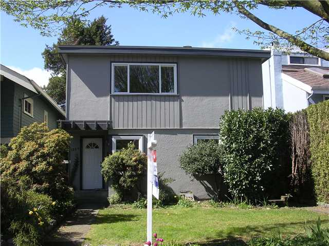 Main Photo: 1329 CYPRESS Street in Vancouver: Kitsilano House Duplex for sale (Vancouver West)  : MLS(r) # V819899