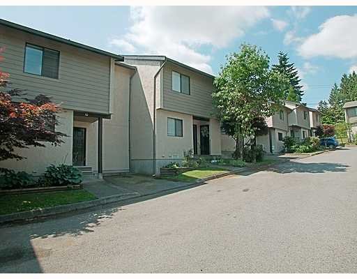 "Main Photo: 13 2880 DACRE Avenue in Coquitlam: Ranch Park Townhouse for sale in ""PARKWOOD."" : MLS®# V721029"