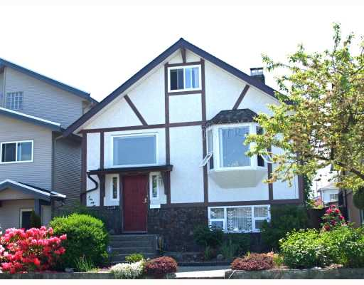 Main Photo: 3318 NAPIER Street in Vancouver: Renfrew VE House for sale (Vancouver East)  : MLS® # V768364