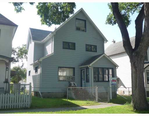 Main Photo: 382 COLLEGE Avenue in WINNIPEG: North End Residential for sale (North West Winnipeg)  : MLS® # 2917354