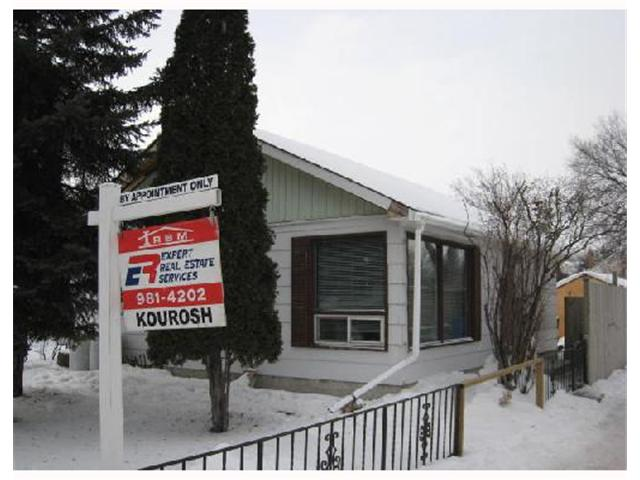 Main Photo: 540 HARROW Street in WINNIPEG: Fort Rouge / Crescentwood / Riverview Residential for sale (South Winnipeg)  : MLS(r) # 2801314
