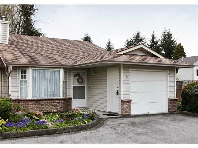 "Main Photo: 10 12049 217TH Street in Maple Ridge: West Central Townhouse for sale in ""THE BOARDWALK"" : MLS® # V819767"