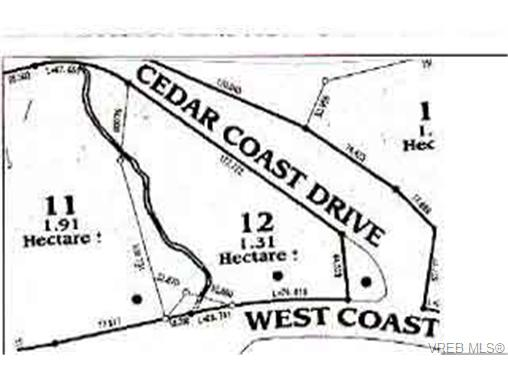 Main Photo: LOT 12 West Coast Road in SOOKE: Sk French Beach Land for sale (Sooke)  : MLS® # 72188