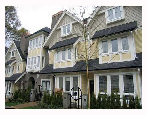 "Main Photo: 1616 ARBUTUS Street in Vancouver: Kitsilano Townhouse for sale in ""KITSILANO MEWS"" (Vancouver West)  : MLS®# V802876"