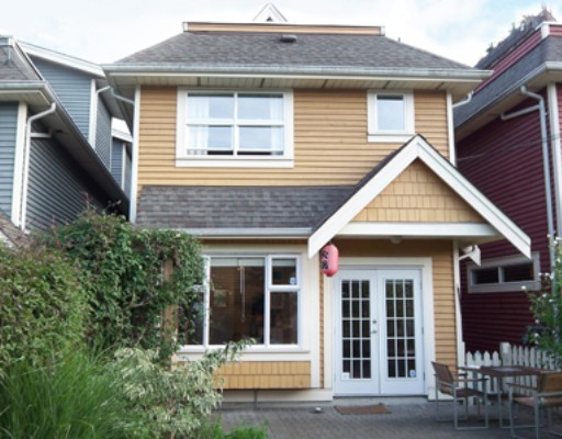 Main Photo: 891 PRIOR Street in Vancouver: Mount Pleasant VE House 1/2 Duplex for sale (Vancouver East)  : MLS(r) # V782544
