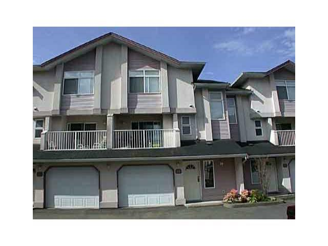 Main Photo: 26 2538 PITT RIVER Road in Port Coquitlam: Mary Hill Townhouse for sale : MLS® # V863108